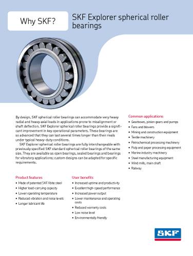 SKF media for metal industry: General information
